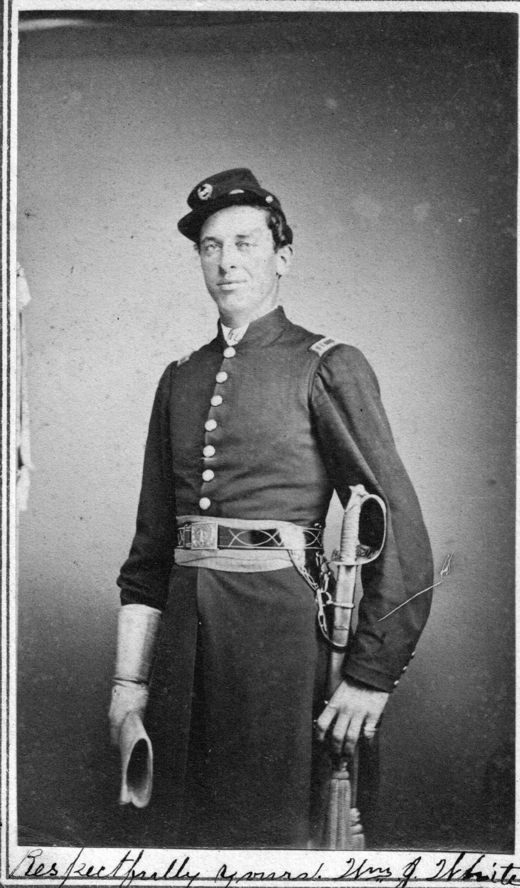 Capt. Wm J. White, 78th OVI and 5th US Colored Heavy Artillery