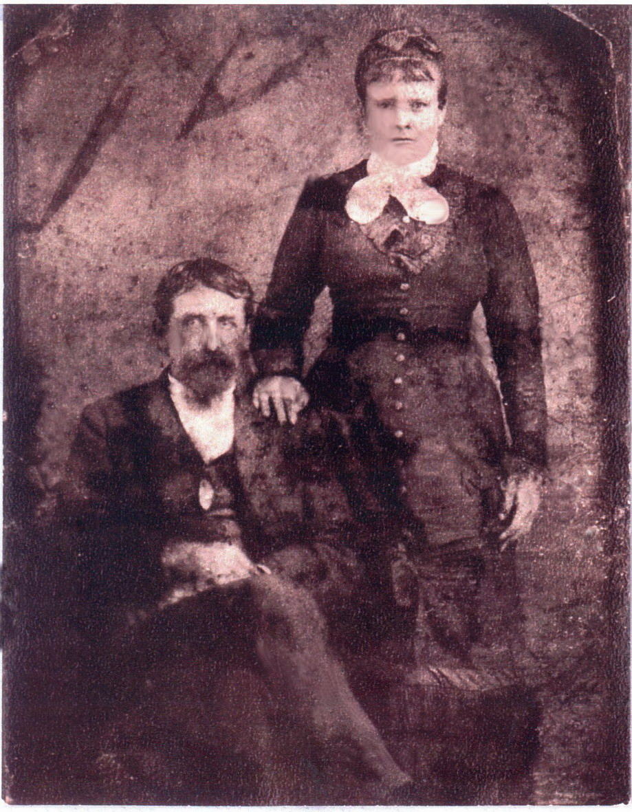Pvt. Alexander Culbertson & wife Lydia Routh