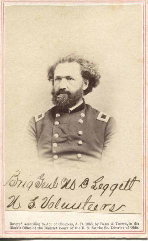 Brig. General Mortimer Leggett