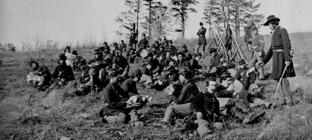 Men of the First Regiment Michigan Volunteers Engineers and Mechanics