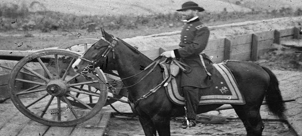 Gen Sherman on Horse